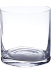 Conjunto Lyor Com 6 Copos Baixos De Cristal Ecológico 410Ml Transparente