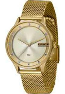 Kit Relógio Feminino Lince Lrg4623L-Ke14C1Kx Analógico 5Atm + Brinde