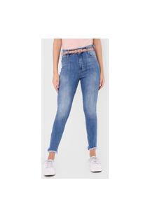 Calça Jeans Coca-Cola Jeans Skinny London Azul