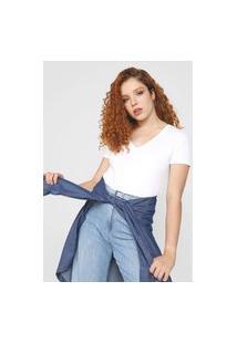 Blusa Calvin Klein Jeans Essentials Branca