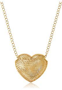 Pingente Em Ouro 18K De Coração - Coleção Too Love