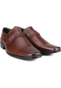 Sapato Social Wakalbout Masculino - Masculino-Marrom