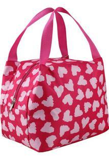 Bolsa Térmica Animal- Rosa Rosa Claro- 23X17X19Cmjacki Design