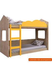 Beliche Montessoriano Bell Carvalho E Amarelo