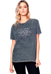 Camiseta Estonada Greta Useliverpool Cinza