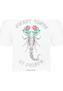 Camiseta Masculina Scorpion - Branco