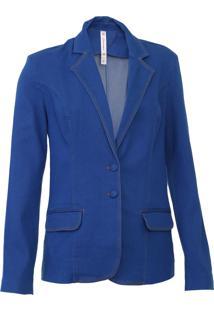 Blazer Carmim Firenze Azul