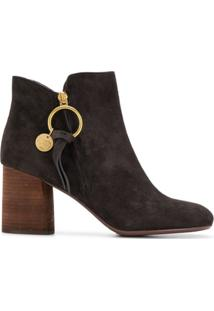 See By Chloé Ankle Boot 'Louise' - Marrom