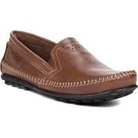 144918c411 Sapato Mocassim Masculino Pegada Marrom Escuro
