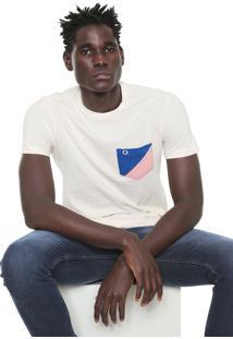 Camiseta Iódice Bolso Off-White