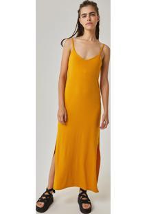 Vestido amarelo reto feminino shoelover r 23900 redley vestido longo reto canelado amarelo thecheapjerseys Choice Image