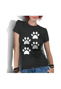 Camiseta Criativa Urbana 4 Patas Dog Preto