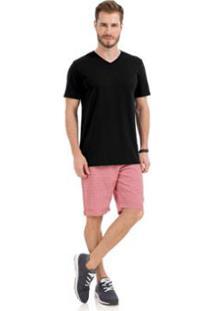 Camiseta Rovitex Premium Masculina - Masculino-Preto