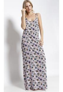 d74718eb3a Vestido Alcas Longo feminino