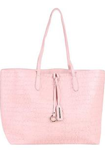 Bolsa Colcci Tote Shopper Feminina - Feminino-Rosa Claro