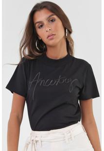 Camiseta Forum Ancestry Preta