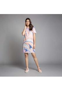 Vestido T-Shirt Estampa Bondi - Lez A Lez