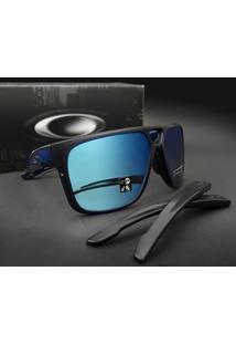 Óculos De Sol Oakley Crossrange Patch Oo9382 03-60 - Masculino