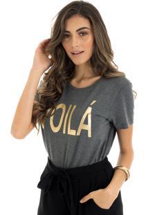T-Shirt La Mandinne Voilá Foil Mescla