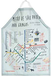 Avental Mapa Metrô