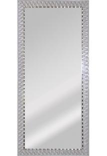 Espelho De Parede Retangular Safira 90 94X44Cm Bege