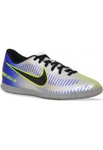 Tenis Nike Futsal Mercurialx Vortex Iii Azul Prata
