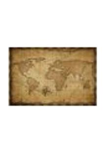 Painel Adesivo De Parede - Mapa Mundi - Mundo - 853Pnm
