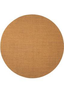 Tapete Natural Redondo Sisal (250X250Cm) Mesclado
