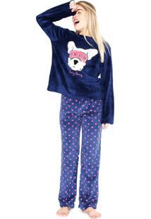 Pijama Any Any Do Not Disturb Azul