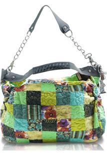 Bolsa Karen Clover Em Patchwork Original - Multicolorido - Feminino - Dafiti
