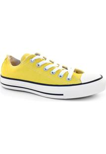 Tênis All Star Amarelo Basket Low Original