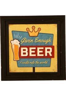 Quadro Decorativo Vintage De Parede Cave
