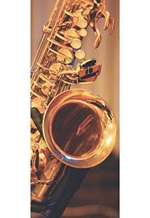 Painel Fotográfico Autocolante Para Porta Com Laminação - Jazz (0,92M(L) X 2,15M(A))