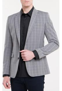 Blazer Slim Pv Check - Grafite - 46