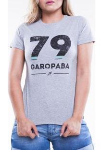 Camiseta Mormaii Básica Adulto 79 Feminina - Feminino-Cinza
