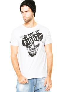Camiseta Pretorian Skull Branca