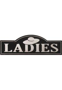 Placa Decorativa Ladies