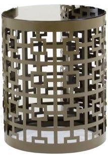Mesa Lateral Gala Pequena Bronze 40 Cm (Alt) - 35807