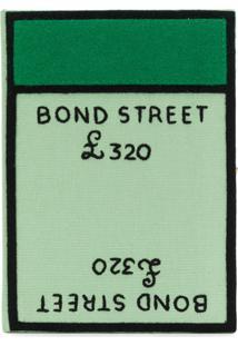 Olympia Le-Tan Bolsa Clutch 'Bond Street' - Green