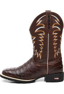 be7ff1442cb ... Bota Texana Crazy Horse Cafe Escamada