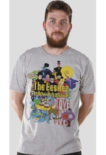 Camiseta Bandup! The Beatles Yellow Submarine - Masculino