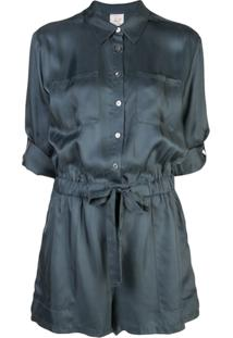 Cinq A Sept Giles Playsuit - Azul