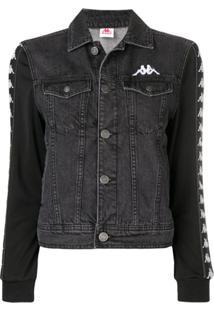 Kappa Logo Denim Jacket - Cinza