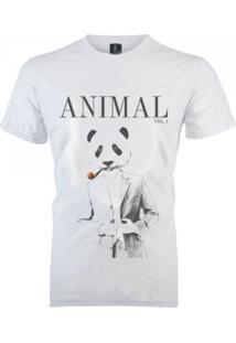 Camiseta João Homor Panda Branca