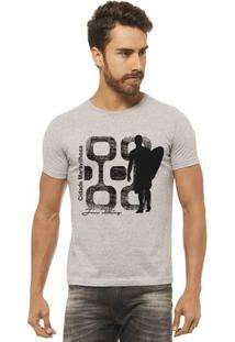Camiseta Joss - Cidade Maravilhosa - Masculina - Masculino-Mescla