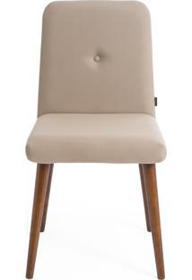 Cadeira Biscoito Fino - Bege