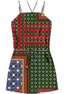 Vestido Com Alças E Cinto Marrakesh - Lez A Lez