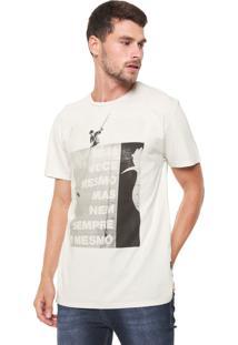 Camiseta Reserva Lambe-Lambe Off-White