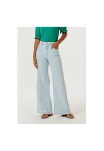 Calça Jeans Pantalona Básicos Do Brasil