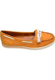 Sapato Feminino Mocassim Bottero Amarelo